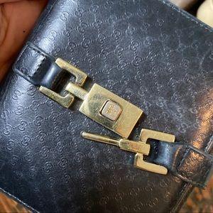 Gucci Bags - Vintage Gucci wallet w lock